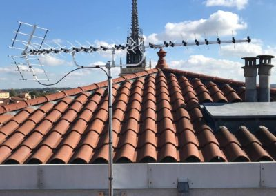 Pose antenne TV Villefranche sur Saône 69400