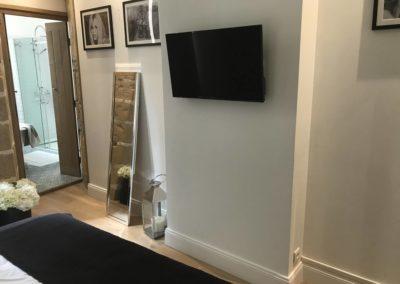 Création d'un point TV dans un appartement à Lyon 69006